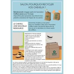 Flyer Sac de Recyclage Cheveux