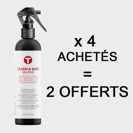 """Offre Spray Désinfectant """"CLEAN&SAFE"""""""